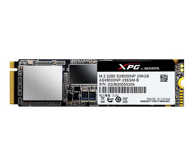 ADATA 256GB M.2 PCIe NVMe XPG SX8000 - 339041 - zdjęcie 2