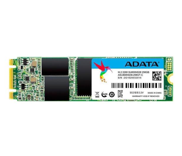 ADATA 256GB SATA SSD Ultimate SU800 M.2 2280 - 340495 - zdjęcie