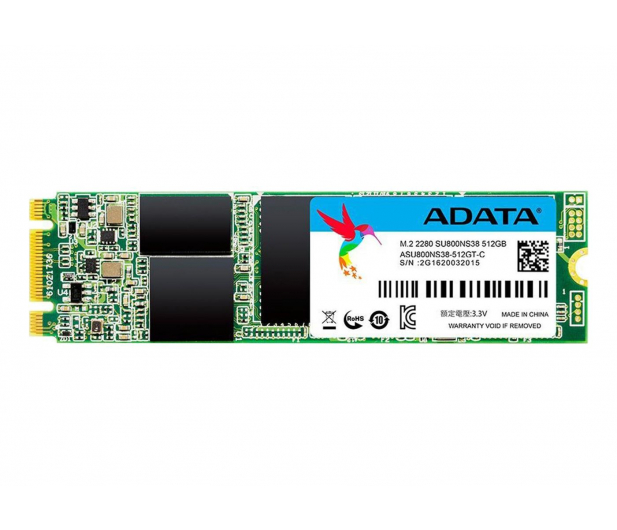 ADATA 512GB SATA SSD Ultimate SU800 M.2 2280 - 352720 - zdjęcie