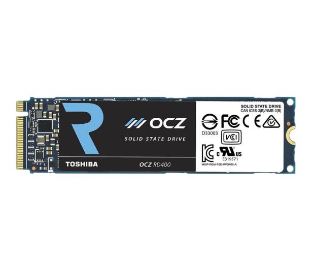 OCZ 512GB RD400 PCIe NVMe M.2 SSD  - 330612 - zdjęcie