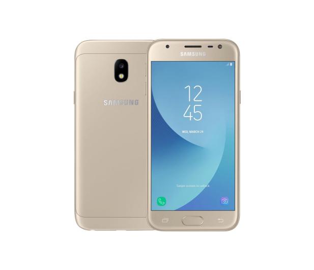 Samsung Galaxy J3 2017 J330F Dual SIM LTE złoty - 368821 - zdjęcie