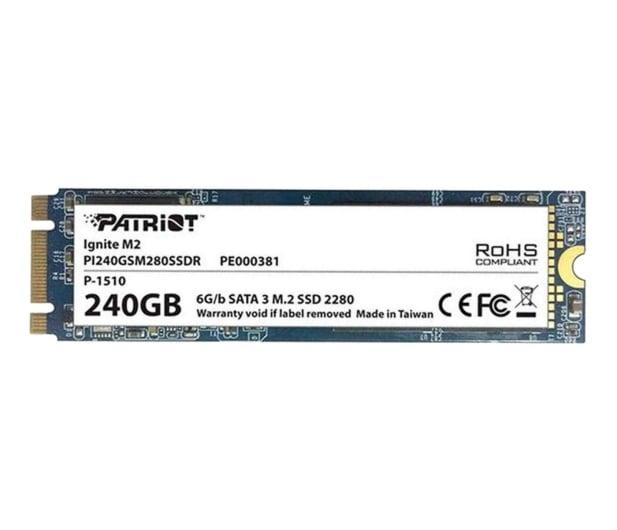 Patriot 240GB M.2 SATA SSD 2280 - 321664 - zdjęcie