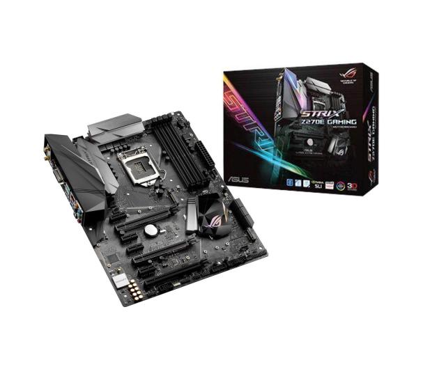 ASUS STRIX Z270E GAMING (DDR4 USB 3.1/M.2)  - 341606 - zdjęcie