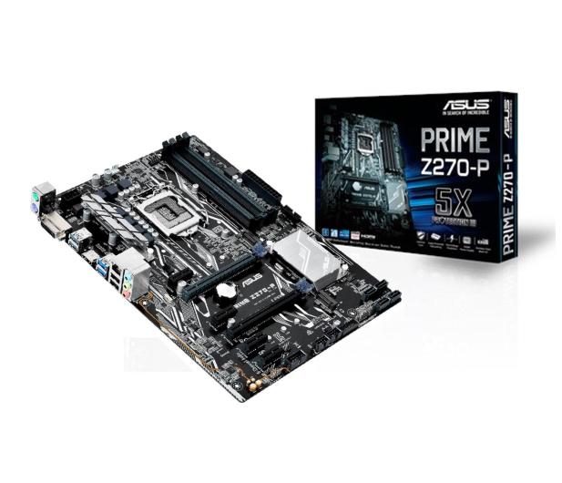 ASUS PRIME Z270-P + i7-7700K + Crucial 8GB 2400MHz - 391541 - zdjęcie 2