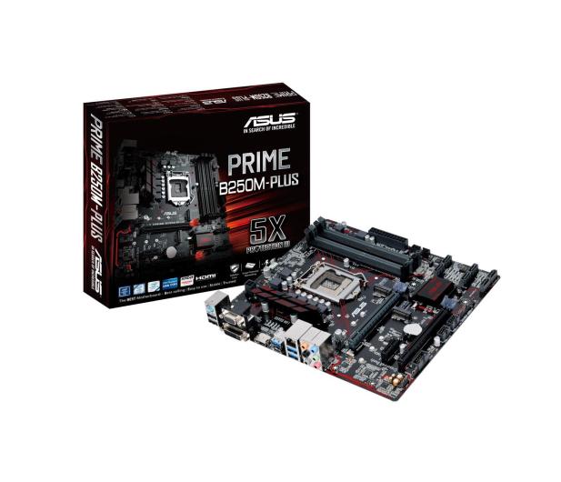 ASUS PRIME B250M-PLUS (3xPCI-E DDR4 USB3/M.2) - 341615 - zdjęcie 1