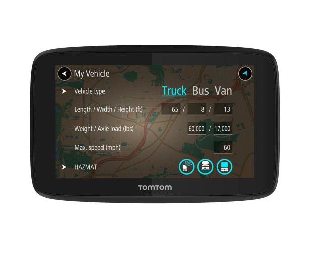 """TomTom GO PROFFESIONAL 520 5"""" Europa Wi-Fi - 366821 - zdjęcie"""