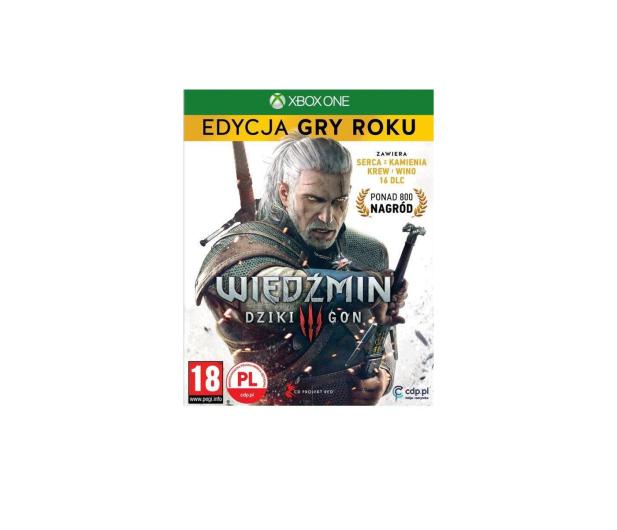 Xbox Wiedźmin 3 Edycja Gry Roku GOTY  - 321462 - zdjęcie
