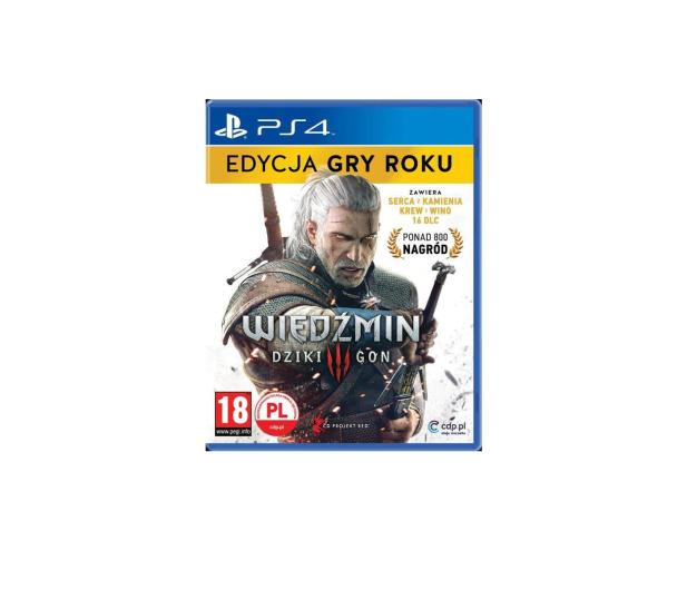 PlayStation Wiedźmin 3 Edycja Gry Roku GOTY - 321460 - zdjęcie