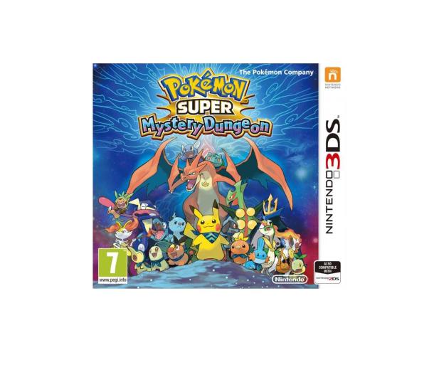 Nintendo 3DS Pokemon Super Mystery Dungeon - 290053 - zdjęcie