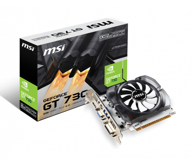 MSI GeForce GT730 OC V1 2GB GDDR3 - 372378 - zdjęcie