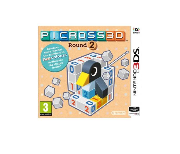 Nintendo 3DS Picross 3D Round 2 - 338274 - zdjęcie