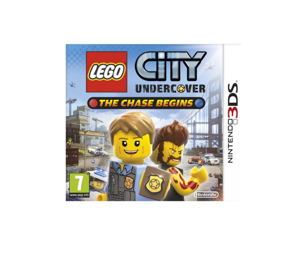 Nintendo 3DS LEGO City Undercover: The Chase Begins - 290133 - zdjęcie
