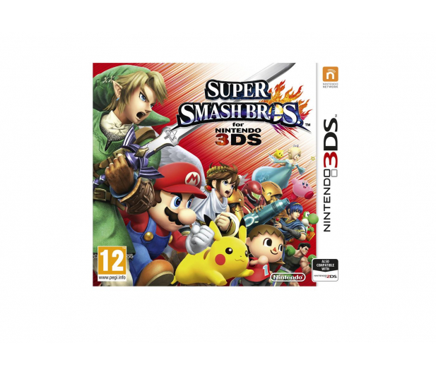 Nintendo 3DS Super Smash Bros - 290106 - zdjęcie