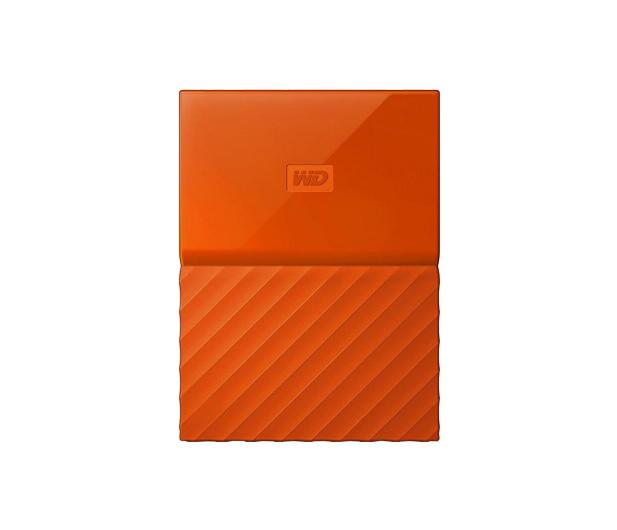 WD My Passport 4TB pomarańczowy USB 3.0 - 337428 - zdjęcie