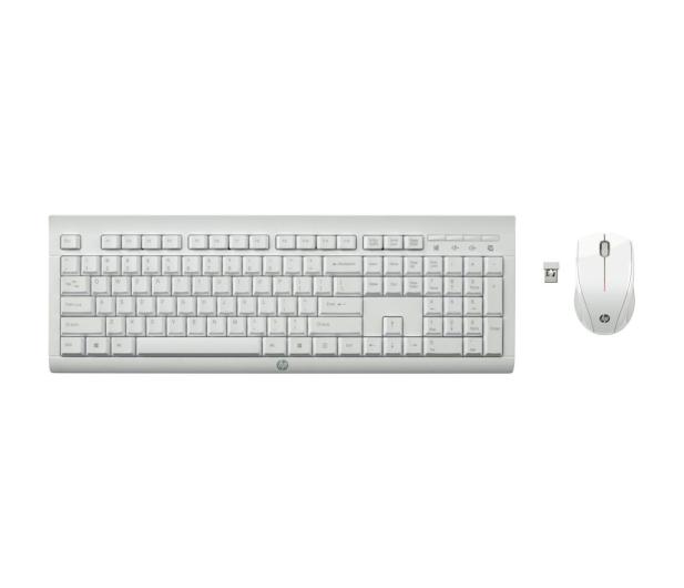 HP C2710 Combo Keyboard (biały) - 373149 - zdjęcie