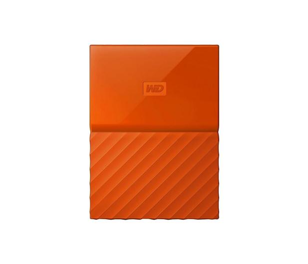 WD My Passport 2TB pomarańczowy USB 3.0 - 435330 - zdjęcie