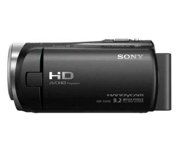 Sony HDR-CX450B czarna  - 372909 - zdjęcie 2