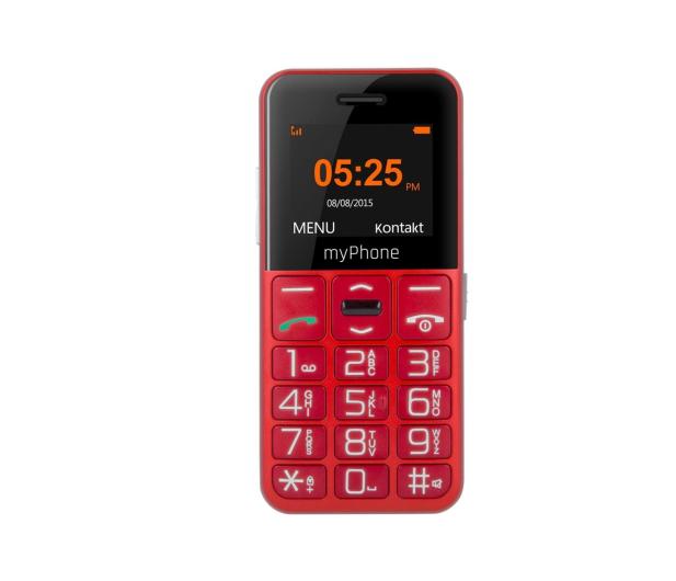 myPhone Halo EASY czerwony - 373255 - zdjęcie 2