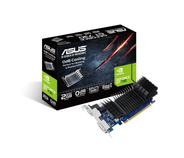ASUS GeForce GT 730 Silent 2GB DDR5 - 373200 - zdjęcie