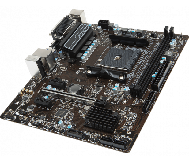 MSI A320M PRO-VHL (PCI-E DDR4 USB3.1)  - 373043 - zdjęcie 3