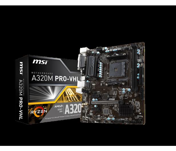 MSI A320M PRO-VHL (PCI-E DDR4 USB3.1)  - 373043 - zdjęcie