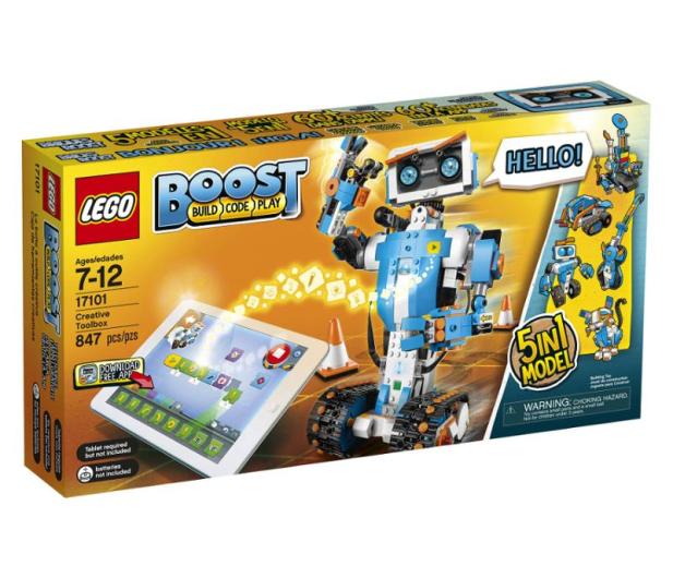 LEGO BOOST Zestaw kreatywny - 496731 - zdjęcie