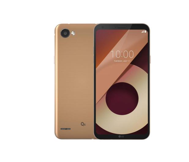 LG Q6 Złoty - 378863 - zdjęcie