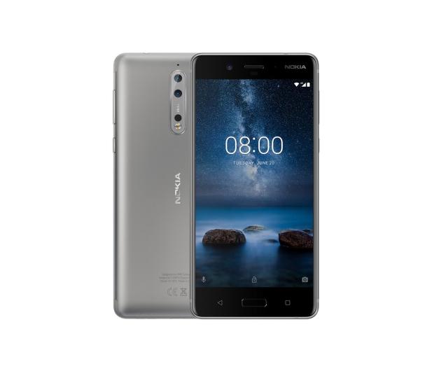 Nokia 8 Dual SIM szary - 379234 - zdjęcie 1
