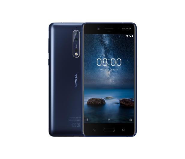 Nokia 8 Dual SIM niebieski - 379236 - zdjęcie