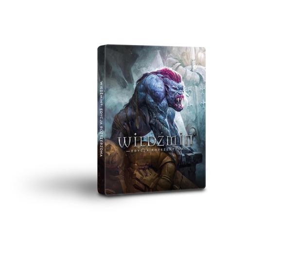 CD Projekt RED Wiedźmin 1 Steelbook Edycja Rozszerzona 10 LAT - 379143 - zdjęcie