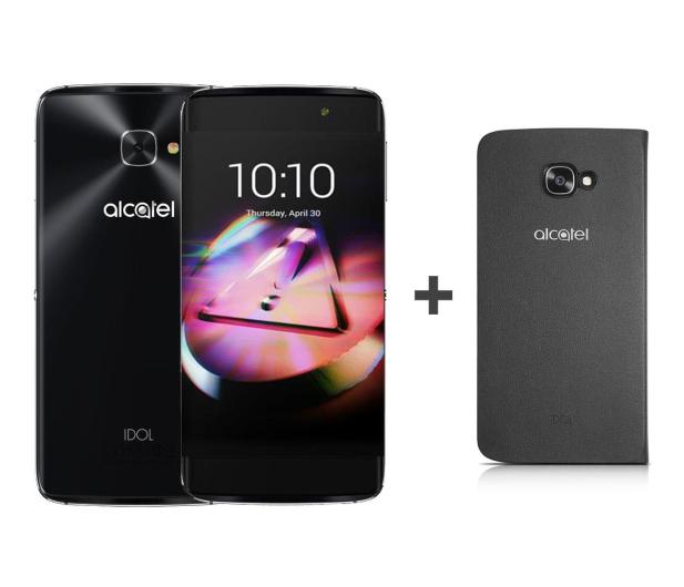 Alcatel Idol 4S LTE Dual SIM szary + ETUI  - 311530 - zdjęcie