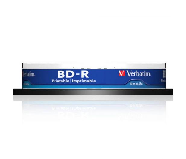 Verbatim 25GB X6 PRINTABLE DATALIFE (CAKE 10 szt ) - 377482 - zdjęcie 2