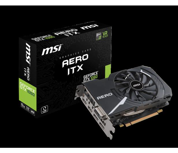 MSI GeForce GTX 1060 Aero ITX 6GB GDDR5 - 379656 - zdjęcie
