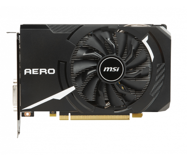 MSI GeForce GTX 1060 Aero ITX 6GB GDDR5 - 379656 - zdjęcie 3