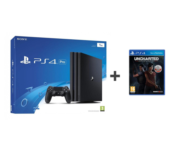Sony Playstation 4 PRO 1TB + Uncharted Lost Legacy - 379829 - zdjęcie