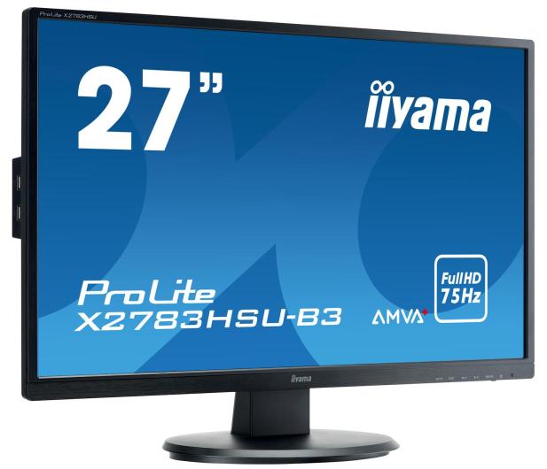 iiyama X2783HSU-B3 - 380620 - zdjęcie 2