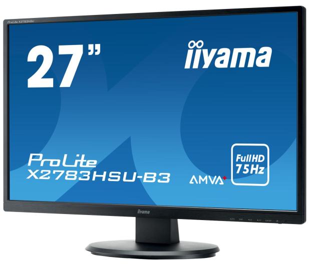 iiyama X2783HSU-B3 - 380620 - zdjęcie 3