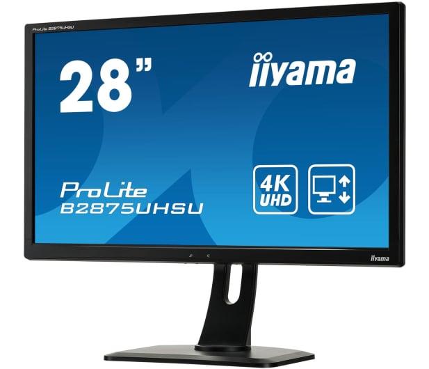 iiyama B2875UHSU-B1 4K - 380625 - zdjęcie 4