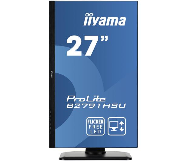 iiyama B2791HSU czarny - 380636 - zdjęcie 2