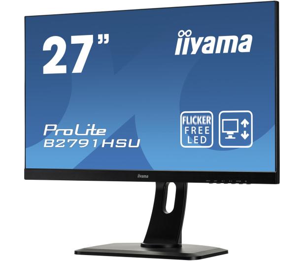 iiyama B2791HSU czarny - 380636 - zdjęcie 5