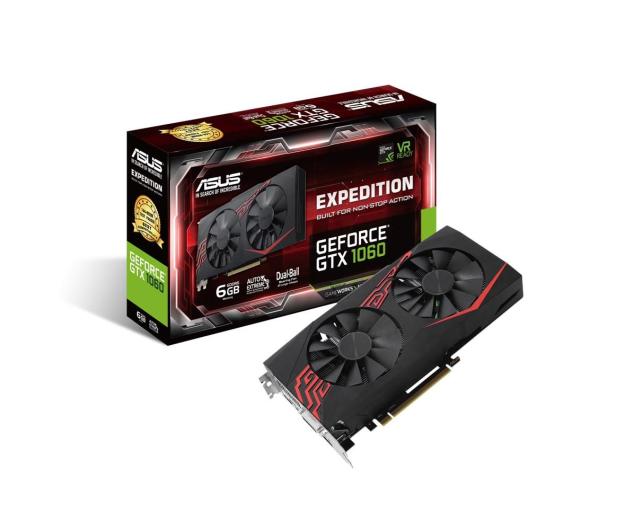 ASUS GeForce GTX 1060 Expedition 6GB GDDR5 - 377543 - zdjęcie