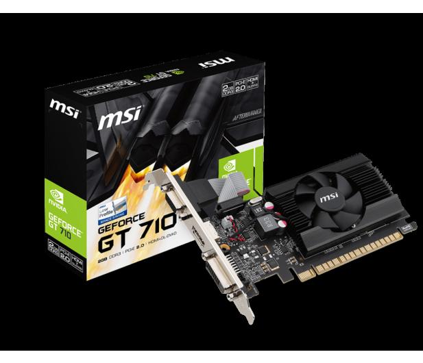 MSI GeForce GT 710 Low Profile 2GB DDR3 - 377720 - zdjęcie