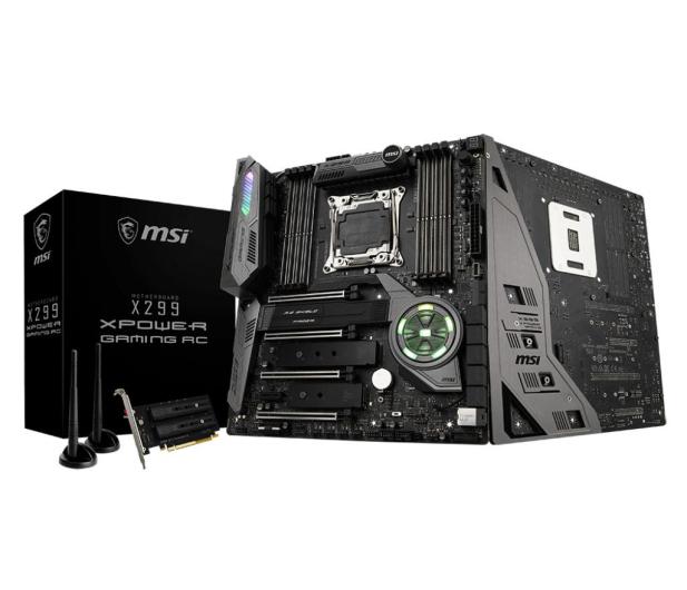 MSI X299 XPOWER GAMING AC (4xPCI-E DDR4 USB 3.1/M.2) - 377750 - zdjęcie