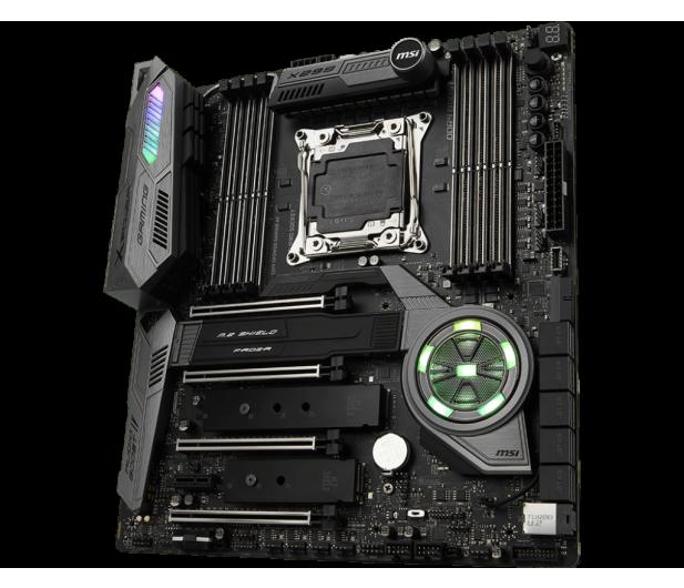 MSI X299 XPOWER GAMING AC (4xPCI-E DDR4 USB 3.1/M.2) - 377750 - zdjęcie 2