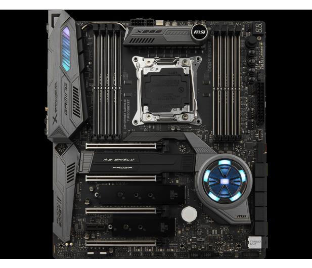 MSI X299 XPOWER GAMING AC (4xPCI-E DDR4 USB 3.1/M.2) - 377750 - zdjęcie 3