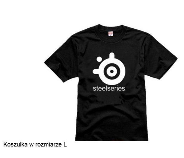 SteelSeries Koszulka z logo L - 271355 - zdjęcie