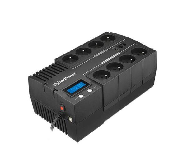 CyberPower BR1000ELCD-FR (1000VA, 600W, 8xFR) - 378346 - zdjęcie