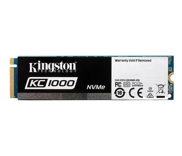 Kingston 240GB M.2 2280 KC1000 PCIe - 378196 - zdjęcie