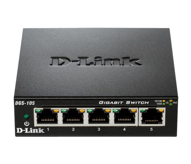 D-Link 5p DGS-105 (5x10/100/1000Mbit) - 78604 - zdjęcie