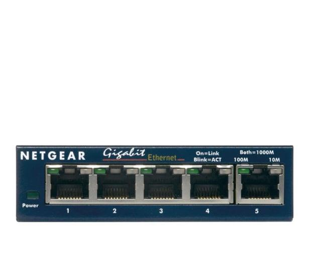 Netgear 5p GS105GE (5x10/100/1000Mbit) - 31230 - zdjęcie